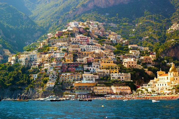 De Amalfitaanse kust, Napels, Capri, de Vesuvius en Pompei