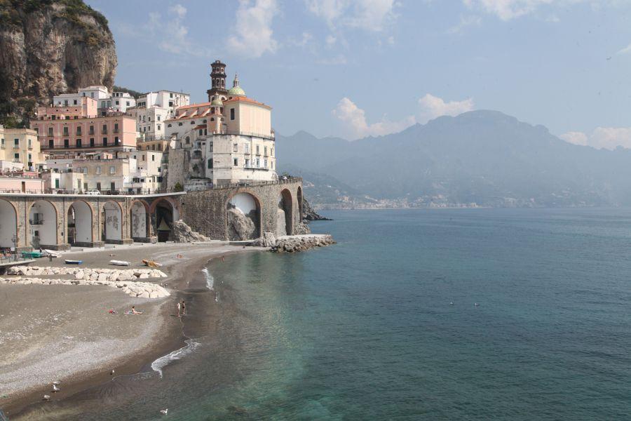Napels, Amalfi, Paestum, Sorrento, Pompei, buffelfarm.